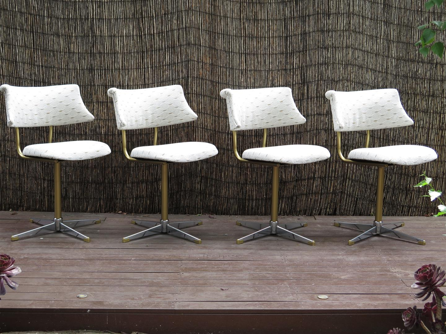 Wonderful image of dining chairs chiswell dining chairs 1960 s ultra swivel chairs with #465E38 color and 1440x1080 pixels