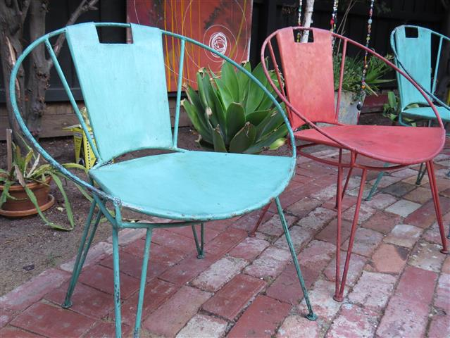Salterini Tempestini Outdoor Metal Chairs